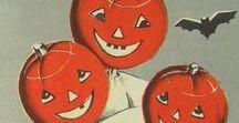 Vintage Halloween Collectibles 2 / Vintage 2D Halloween graphics, art & design.