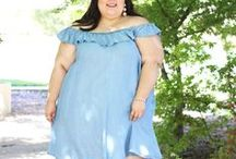 style / Classic and casual-chic plus size outfits from my blog and youtube channel