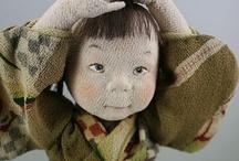 Cloth Art dolls / by Stephanie Smith
