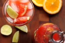 recipe book: drinks / beverages, smoothies, ect / by Brooke Field