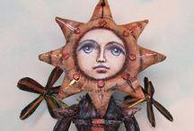 Cloth Art Dolls  3 / by Stephanie Smith