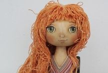Cloth Art Dolls 4 / by Stephanie Smith
