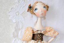 Cloth Art Dolls 5 / by Stephanie Smith