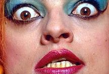 NINA / The amazing, beautiful, mesmerizing NINA HAGEN.  I can sit and look at her forever.