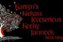 Karsyn's Kickass Jocoserious Kooky Jannock book blog / My kickass half in jest; half serious, crazy & offbeat, honest & outspoken thoughts on all things, but mainly books.