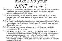 2015 / Resolutions