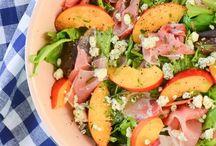 salads / by leigh ann