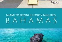 Bimini, Bahamas / On Bimini Island, you'll find more fishing, diving, sailing and more to do per square mile than anywhere in The Bahamas. Bimini is located 50 miles east of the Miami coastline.