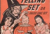 Vintage Halloween Designs / Advertisements, Box Design, & Dimensional Display