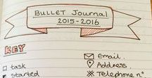 Bullet Journal / Everything #bulletjournal