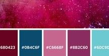 Colour Palettes by Aimee / Do you love colour?  Does your job or your hobbies involve colour?  From crochet to graphics, painting to hairdressing, interior design to graffiti - check out some of these colour palettes if you need some inspiration.