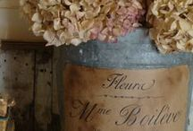Shabby Chic French Cottage Decor / Decor ideas with french inspiration.