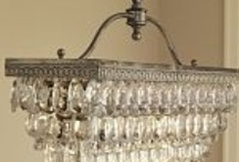 Cottage Lighting / Lighting inspiration for cottage chic and farmhouse rooms.