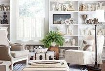 Farmhouse Cottage Living Room / Farmhouse cottage inspiration for the living room.