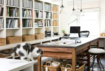 Workspace Design ideas / Workspaces affect our productivity and performance - here are some carefully selected images to reflect a variety of styles of workspaces and places.