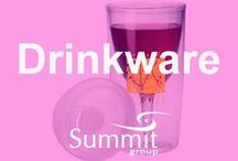 Refreshing Drinkware / Contact Summit Group for all of your branded merchandise!  Marketing@summitmg.com