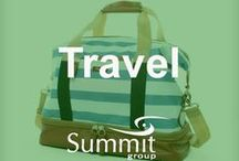 For the Traveler / Contact Summit Group for all of your branded merchandise!  Marketing@summitmg.com
