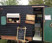 Caravans & Foodtrucks / caravans , retro,vintage, pipowagen,bouwkeet,foodtrucks