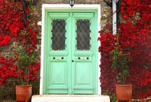 Welcoming Doors / I would love to see the other side of these doors... / by Mary 'Cribbs' Lowther