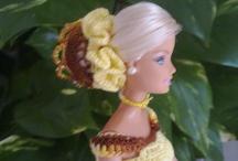 barbie.... / un vestido especial....