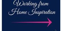 Working from Home Inspiration / If you work from home then where you work will have an affect on your productivity and performance.  Take inspiration from these carefully selected images.