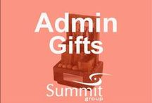 Administrative Gifts / Contact Summit Group for all of your branded merchandise!  Marketing@summitmg.com