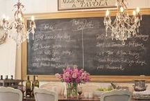 Chalkboards / Chalkboards add so much charm to a cottage home!