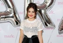 Lucy Hale! / The secret's out—actress and singer Lucy Hale is the new mark. Brand Ambassador! Keep checking back for Lucy's videos, images, product picks and more!  / by mark. girl