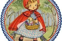 Red Riding Hood / Fairytales Red Riding Hood  Roodkapje