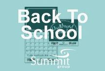 Don't Miss the Bus! Back-to-School is coming! / Contact Summit Group for all of your branded merchandise! Marketing@summitmg.com