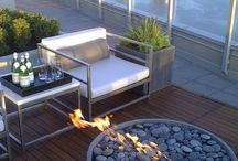 Furniture outdoors / by Jane Chambers