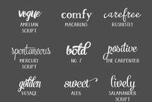 Fantastic Fonts / Fonts