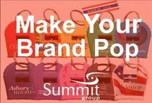 Make Your Brand Pop / Some of our favorite items from our April 1st Spring Trade Show.  If you have any questions, please send them to Marketing@summitmg.com