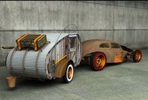 Kicking it old school Rat Rods