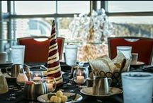 Holiday Parties at Cobb Energy Centre /  Host memorable holiday parties for your business, family, friends or colleagues, and let our world class caterers, decorators and event planners bring the spirit of the holiday season to your event!