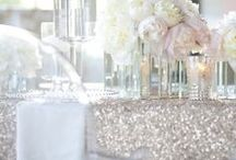 Glitter, Sequins, and Sparkle / Ideas that can be used for your event at our venue.