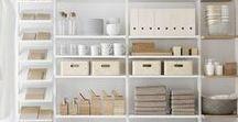 Get organised! / Teveel spullen in je huis en te weinig plek om het op te ruimen? Je kent het wel… Met enkele handige tips om extra opbergruimte te krijgen.