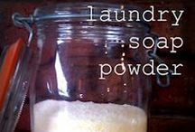 household products / homemade natural cleaning, medicinal and other products