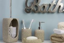 Pebble Bathroom Interior / Why not 'get the look' with our great pebble bathroom range, perfect for creating a tranquil theme.  / by The Range