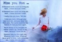 In Memory of My Mama <3