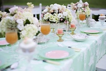 A Mint Party / There's something so soothing about this color, it's very energizing & refreshing! / by Cake & Bake