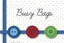 Busy Bags / activities to keep my toddler busy
