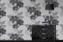 Fabulous Florals / Explore our vast range of beautiful floral wallpaper designs, perfect for creating vintage elegance in your home. Or, how about exciting, big and bold floral designs for an impressive statement and striking feature walls? / by The Range