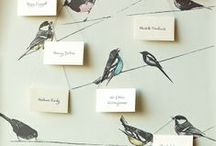 Wedding - escort cards