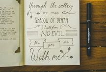 Calligraphy Love / by Morgan Young