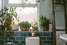 BATHROOMS / home decoration, inspiration, wellness temples