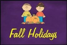 Fall Holidays