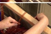 Weaving / Loom, Tablet, Cardboard, Straw Weaving