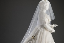 Vintage Bridal / Wedding Fashions from the 1700's to the 1920's