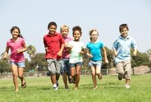 Outdoor Play / Encourage kids to get some outdoor play. It's healthy and fun!